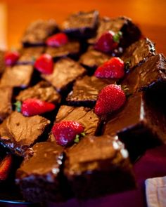 """""""Cowboy cake,"""" a gooey chocolate cake with a hint of espresso, makes a delicious rehearsal dinner dessert"""