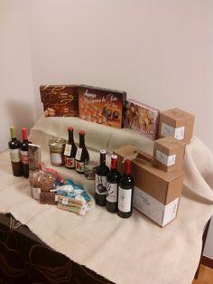 Cesta de navidad en www.maridarioja.com/tiendaonline #cestasnavidad #loteregalo #lotegourmet #regalarnavidad