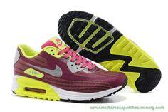 Vermelho Amarelo Nike Air Max Lunar 90 JCRD 654468-013 Mulheres comprar baratos