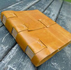 My Handbound Books - Bookbinding Blog: crossed structure