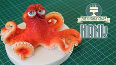 Finding Dory cake topper: Hank the octopus model (septopus)