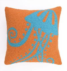 Jelly Fish Hook Pillow