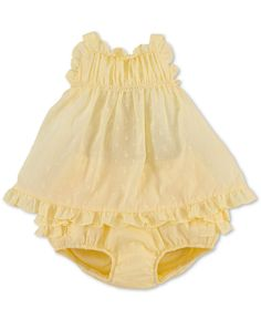 Ralph Lauren Baby Set, Baby Girls Eyelet Pretty Summer Top and Bloomers - Kids Baby Girl (0-24 months) - Macy's
