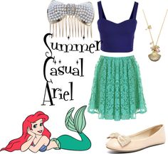 """Summer Casual Ariel"" by anica-dial on Polyvore"