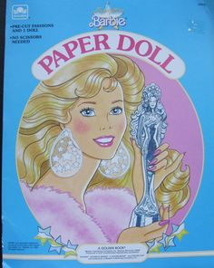 Vintage 1989 Jewel Secrets Barbie Paper Dolls by MyTreasureIsland