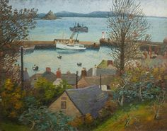 Sir Cedric Lockwood Morris (1889–1982) ~ The Scilly Packet Boat