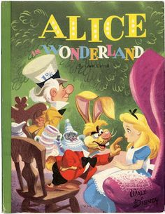 Vintage Disney Alice in Wonderland: Happy Birthday Alice