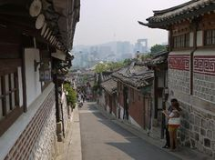 Seoul Samcheong-dong Bukchon