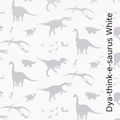 Wallpapers Dya-think-e-saurus White
