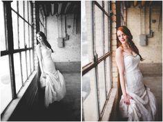Fishtail Braid Bride | Winter Inspiration | Kylee Ann Photography | Logan Utah Wedding Photographer | Indoor Bridals | Window Shots