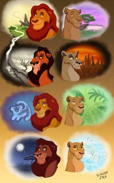 Majesties by Sukalartoons on DeviantArt Lion King Tree, Scar Lion King, Lion King Fan Art, Lion King Funny, Lion King Movie, Disney Lion King, Lion King Series, Lion King Poster, Lion Tattoo Sleeves