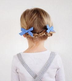 Free Babes Handmade Pigtail Sets. Made with love in the USA. http://www.freebabeshandmade.com