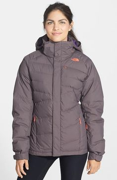Free shipping and returns on The North Face 'Heavenly' Hooded Down Jacket at Nordstrom.com. On those epic powder days, the last thing you want to do is go inside. Extend your time on the slope or street with this 550-fill hooded down jacket. Cut with a streamlined, active fit, the jacket features an elasticized powder skirt and dedicated pockets for all your essentials. The waterproof HyVent® 2L exterior remains breathable when you're getting worked in technical terrain.
