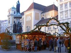 Favorite one! Christmas Market at Freyung, Vienna
