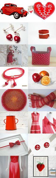 Red Hot SPS TEAM by Saralu Kauppila on Etsy--Pinned with TreasuryPin.com #annehermine #storagebasket