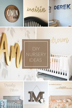 These nursery ideas will be sure to leave you filled with inspiration and ready to tackle decorating that special room in your home. | CraftCuts.com