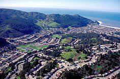 Aerial view of Pacifica