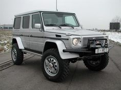 Mercedes G500 ORC Lifted