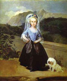 Retrato de María Teresa Vallabriga y de Borbón - Francisco de Goya