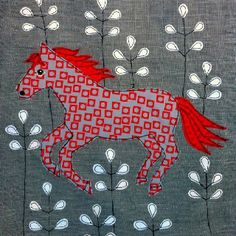 I love this horse. By Lucy Levenson
