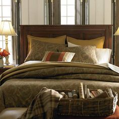This Queen panel bed can be used as a headboard only. This bed is available in both Antique black or Cherry finishes.  Also available in Twin, Full, King and Cal King