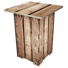 Werkhaus Shop - Säulentisch - Holzkiste