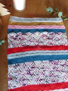 The Land of Sweets cowl... part of Helen Stewart's of Curious Handmade knitvent 2017 collection available on Ravelry