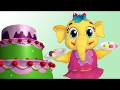 Ice Cream Song For Children New Nursery Rhymes, Nursery Rhymes Collection, Music For Kids, Kids Songs, Kids Tv, Our Kids, Cake Song, Ice Cream Cone Cake