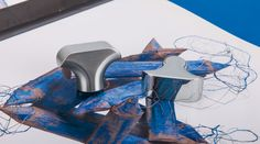 Chrome Cabinet Drawer Knobs by Colombo Design from they're Formae line.
