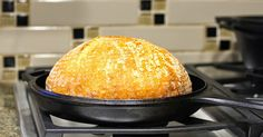 Karen's Kitchen Stories: How To Transfer Bread Dough to a Hot Cast Iron Dutch Oven - Bread 101
