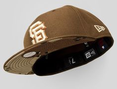 San Francisco Giants Brown Camo 59Fifty Fitted cap by NEW ERA x MLB