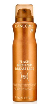 Flash Bronzer Dream Legs by Lancome - my top 5 tanning products