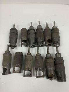 """4PC KONZCO 1//4/"""" Piloted ST1221-JF-8-M42 Countersink 1//4/""""-28 Thread Drill Bit Lot"""