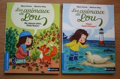 Les animaux de Lou, premières lectures pour petits végés