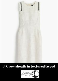 717143c0fb Review of J. Crew s sheath dress in textured tweed on Gigi s Gone Shopping   jcrew  jcrewreview  gigisgoneshopping  sheathdress  tweeddress