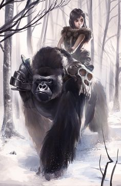 kong ride by lehuss on @DeviantArt