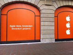 To be open Apple Store In Amsterdam