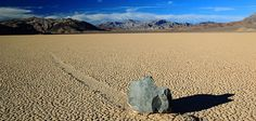 "How Do Death Valley's ""Sailing Stones"" Move Themselves Across the Desert? http://www.smithsonianmag.com"
