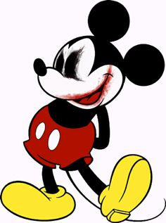 Bloody Mickey Mouse
