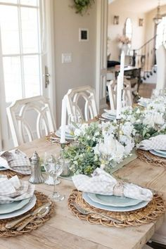Are you looking for table setting inspiration? Fall tablescapes are such an elegant way to decorate your house. Pull out your autumn table decorations to get you in the Autumn spirit. If you are looking for more beautiful tablescapes visit Home with Holly J.