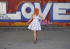 I'm wearing Beach bash dress from Tatyana / Bettie page
