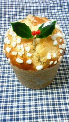 クリスマスに! 超簡単パネトーネ Holiday, Christmas, Bakery, Pudding, Bread, Cooking, Desserts, Recipes, Food