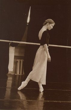 "Just watched the documentary ""Ballerina"" in which Evgenia Obraztsova is featured - so beautiful."