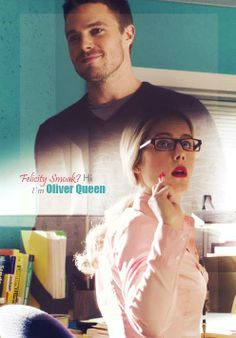 Arrow - Oliver Felicity #Season1 #Olicity Shipped them at that moment!!