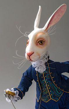 "The White Rabbit | Коллекционная кукла ""Белый кролик"""