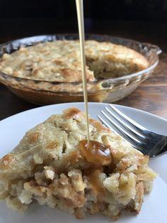 dairy-free caramel apple cake