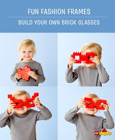 With the same few bricks we used to build our LEGO DUPLO hearts, you can build some really stylish spectacles! Why not have a go with your little one? http://www.lego.com/da-dk/family/articles/from-lego-duplo-with-love-fun-fashion-frames-1907a4c5808543a3ae98187d61dec394