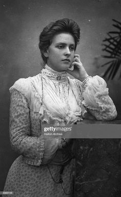Princess Andrew of Greece and Denmark nee Princess Alice of Battenberg Spam. Mother of Prince Philip and my favourite Royal!