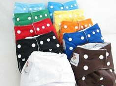 Kawaii Diapers - One Size Snap Closure Pocket Diaper