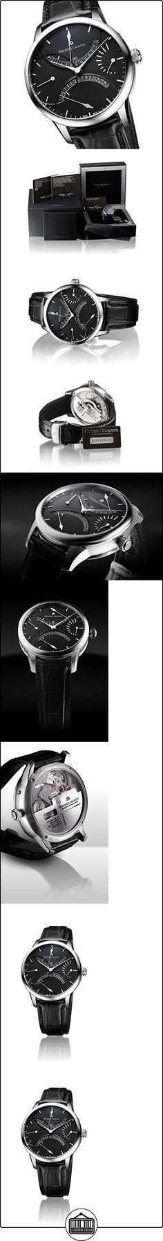 Maurice Lacroix Masterpiece Double Retro Grade Automatique mp6518de SS001-330  ✿ Relojes para hombre - (Lujo) ✿